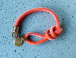 Armband Jandia Samt Mandarine-Rosé