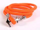 Ankerliebe Orange/Silber