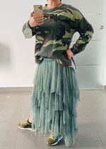 Camouflage Sweater Grün