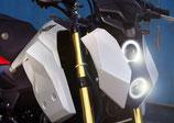 グロム/MSX125 SF 17-20フロントマスク LED ヘッドライト v4