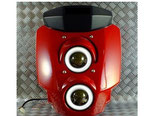 グロム/MSX125 フロントマスク LED ヘッドライト v3