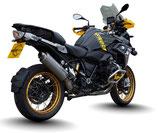 PRO-RACE R1200GS R1250GS 14-21 OVAL TITANIUM