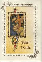 イタリア製 クリスマスカード 定型 聖家族c1624 180-12