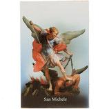 イタリア 聖なるカード、祈りの聖ミカエル SA002084