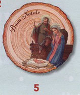 FB NATALE イタリア製 オーナメント 聖家族 1402-5 8×9センチ