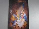 イタリア製 クリスマスカード 定型 聖家族 C1608