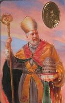 プラカード8,3×5,3センチ Svaty Ambroz Patron vcelara  セントアンブローズ - 養蜂家の守護者 17