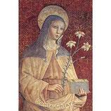 ご絵 イタリア 聖クレア(聖キアラ)2027