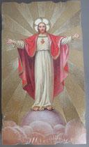 イタリア ご絵 Eucaristina 031 10.7×6センチ 飾り縁箔押し 紙裏白