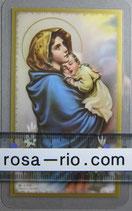 イタリア パウチご絵 聖母子 マドンナ 11×7センチ