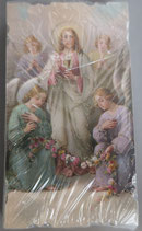 イタリア ご絵 Eucaristina 017 10.7×6センチ 飾り縁箔押し 紙裏白