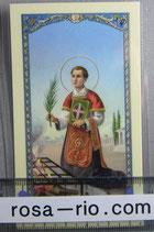 イタリア パウチご絵  聖レウナンス 11×7センチ
