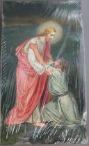 イタリア ご絵 Eucaristina 015 10.7×6センチ 飾り縁箔押し 紙裏白