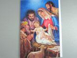 イタリア製 クリスマスカード 定型 聖家族とひつじかい C1617