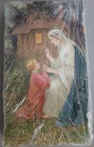 イタリア ご絵 Eucaristina 018 10.7×6センチ 飾り縁箔押し 紙裏白
