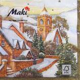 ヨーロッパ高級紙ナプキン  教会 0003101