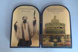 インドゴア フランシスコザビエル 大聖堂 たて大 14見開き18センチ