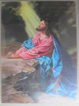 ご絵 ホフマン ゲッセマネの祈り 20×15.5センチ 3D