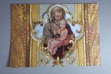 スイスEinsiedeln 聖父子 ポストカード