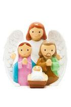 LDW  185465YX-1   Guardian Angel Nativity scene  守護の天使と聖家族(ネイティビティ)