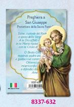 マグネット(楯にもなります)イタリア製 聖ヨセフ8337-632 7.8×3,7センチ