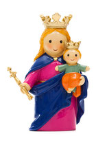 LDW 195071YX Mary Help of Christians 扶助者マリア キリスト者の助け