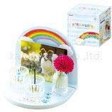 カメヤマキャンドル 62010001SET 虹のかなたメモリアルステージセット 空色