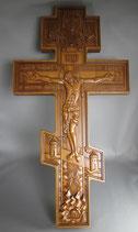 正教 木製クロス 50×26㎝ 厚み22ミリ