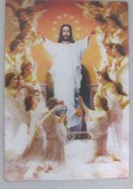 3D ご絵 キリスト復活 天使  小