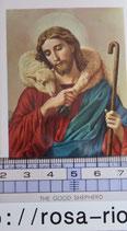 ご絵 絵画 GOOD SHEPHERD A-14 10.5×6センチ 紙裏白
