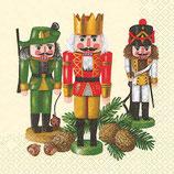 ヨーロッパ高級紙ナプキン おもちゃの兵隊2 610945