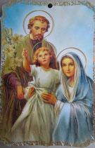 板絵 聖家族 6.5×9.5センチ