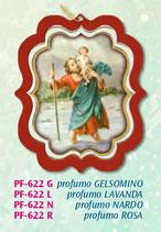 イタリア FB PFー622-L 香りシート 聖クリストファー ジャスミン