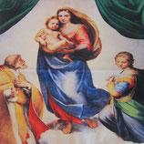 クッションカバー 聖母子A 45×45センチ