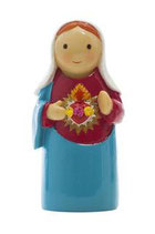 LDW 155258YX Immaculate Heart statue 汚れなきマリアの心