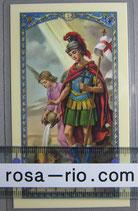 イタリア パウチご絵 聖フローレン  11×7センチ