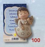 FB NATALE イタリア製 マグネット 天使 1100-100 6、5センチ