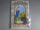 カラバッジョの聖母 花カード(花メダイ&ミニカード)