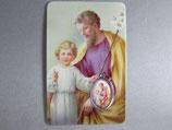 イタリア 聖ヨセフ(聖父子)メダイプラカード
