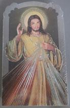 イタリア ご絵 CLARA 15 12.5×7.5センチ 大判飾り縁箔押し 紙裏白