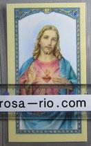 イタリア パウチご絵 みこころのイエスA 11×7センチ
