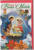 イタリアカード イタリア クリスマス 1018-1