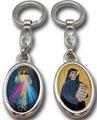 キーホルダー いつくしみのイエスと聖ファウスティナ