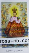 サントニーニョ S.BAMBINO DI PRAGA イタリア 祈りカード