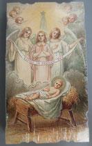 イタリア ご絵 Eucaristina 020 10.7×6センチ 飾り縁箔押し 紙裏白