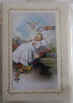 イタリア FB洗礼カード定型 幼児洗礼 523-2
