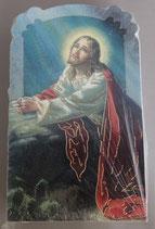 イタリア ご絵 CLARA 16 12.5×7.5センチ 大判飾り縁箔押し 紙裏白