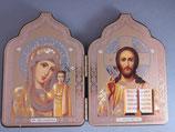 イコン旅行用 カザンの聖母とイイスス2面6016-5