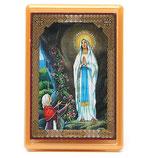 マグネット プレキシガラス マグネット ルルドの聖母 10x7cm MS000055