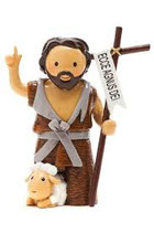 LDW 175168YX  Saint John the Baptist statue 洗礼者聖ヨハネ